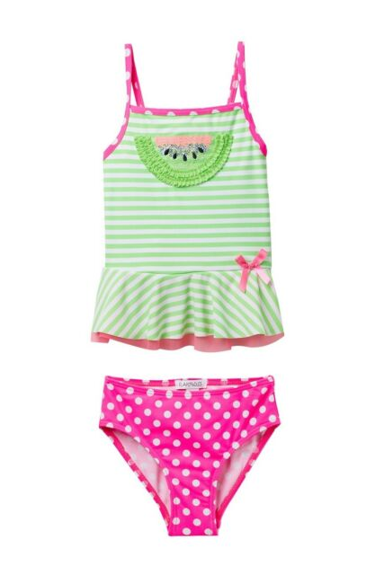 NWT Jessica Simpson Toddler Girl/'s Snow Leopard 1 Pc Swimsuit 2T//3T//4T Pink