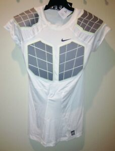 aa8db080 Image is loading NIKE-Pro-Combat-Hyperstrong-Compression-4-Pad-Football-