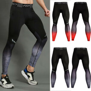 fe612c19cd2b6d Image is loading Mens-Compression-Pants-Workout-Gym-Running-Cycling -Training-