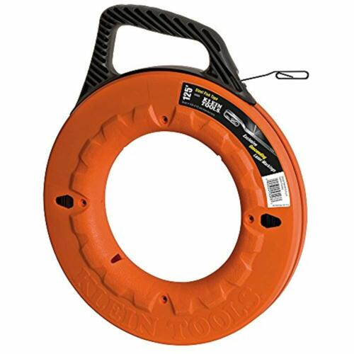 Great For Long Runs And Heavy Duty Wire Pulls 125-Foot Fish Tape Laser Etched