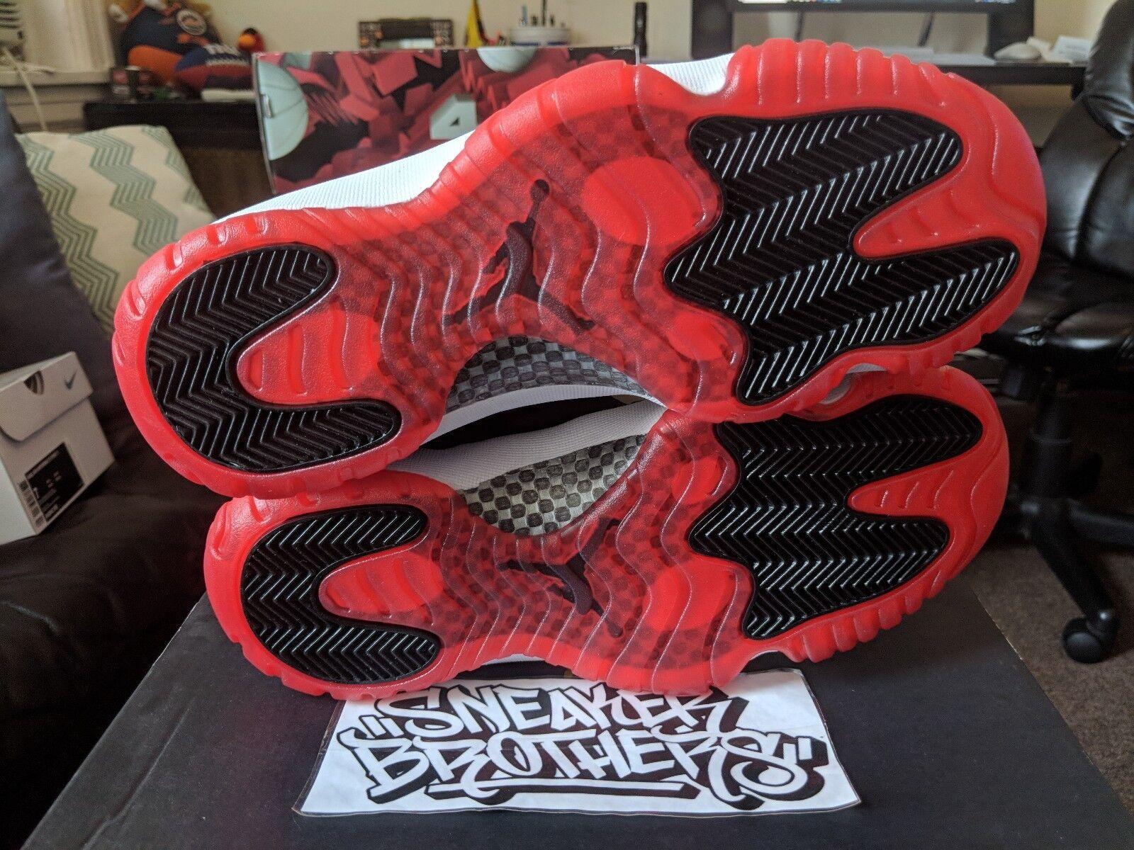 nike air jordan retro - xi 11 weiß niedrigen aus rot - weiß 11 - schwarzen wahr 528895-012 3b3b5d