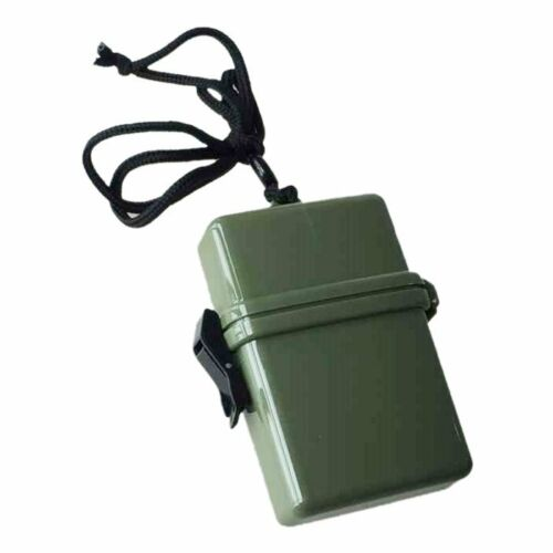 Waterproof Container Airtight Case Id Keys Money Holder Beach Camping Ra C4H2 3X