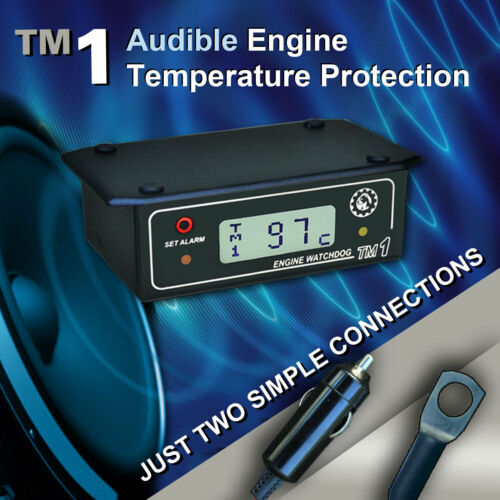 ENGINE WATCHDOG OVERHEATING WARNING ALARM Model TM1