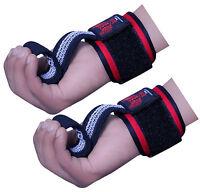Boom Prime Gym Neoprene Hand Bar Straps Weightlifting Gel Wrist Support Wraps