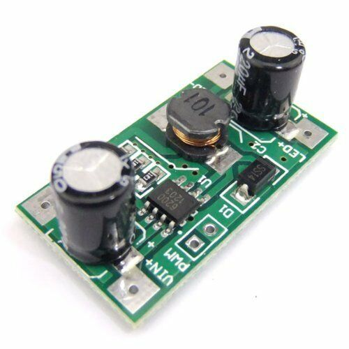 10PCS 3W 5-35V LED Driver 700mA PWM Dimming DC to DC Step-down Constant Current
