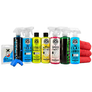 Chemical Guys Starter Car Care Kit 9 Items HOL124MAX