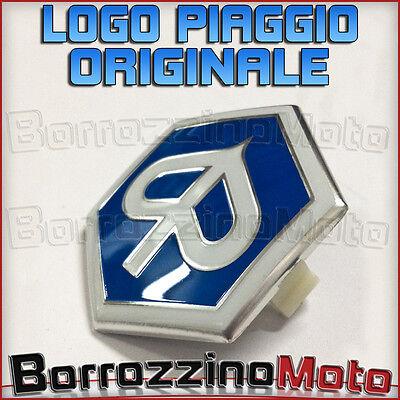 SCUDETTO FREGIO STEMMA ESAGONALE ORIGINALE PIAGGIO X7 X8 125