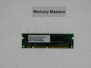 La Fourniture Mem2600-4d 4mb Drachme Mise à Niveau De Mémoire Pour Cisco 2600 Routeur Séries