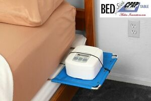 BEDSide-CPAP-TABLE-Fits-under-mattress-bed-side-Sleep-Apnea-Great-for-Travel
