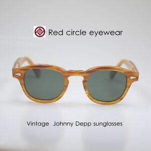 fbbe55dd279 Image is loading Vintage-polarized-sunglasses-men-Johnny-Depp-sunglasses- blonde-