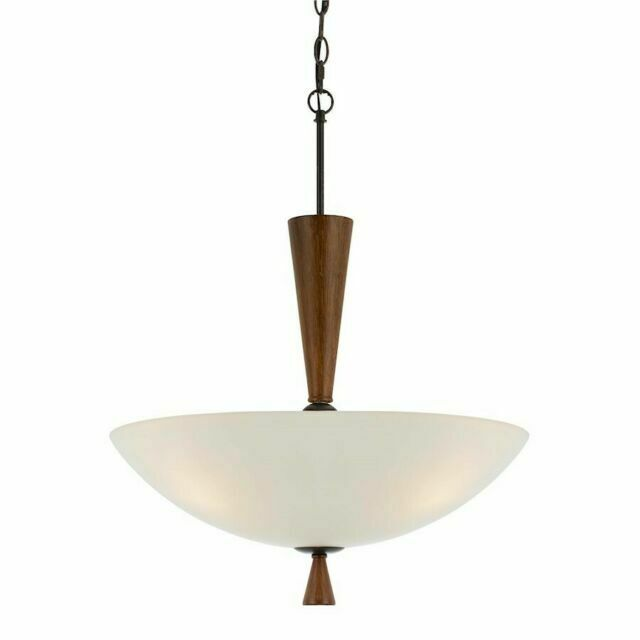 Cal Lighting Fx 3528 1p Verona 2 Light Bowl Shaped Pendant For Sale Online Ebay