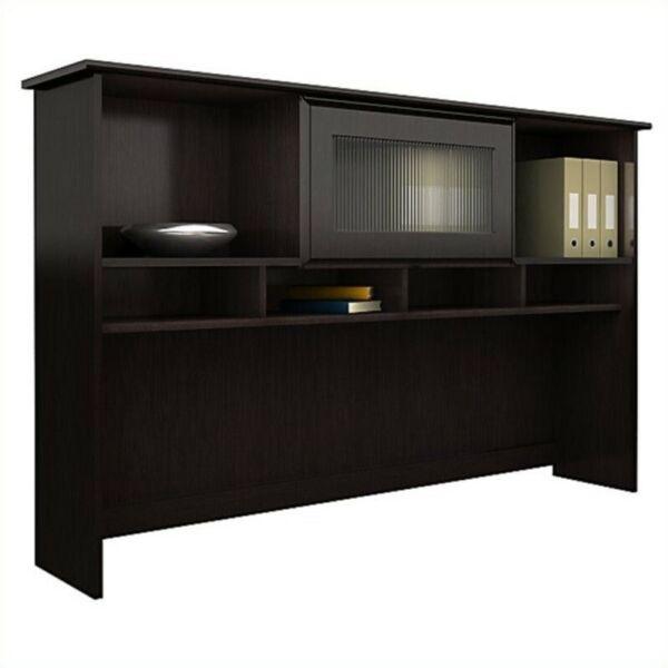 Bush Furniture Cabot Hutch In Espresso Oak For Sale Online