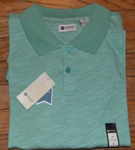 Haggar Big /& Tall Short Sleeve Polo Size LT XL 2X 2XLT 3XLT 4X  MSRP $56.00