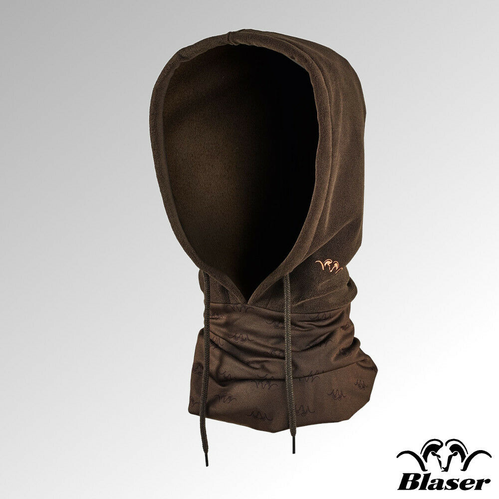 Blaser Fleece Hood Brown (118068-112 600)