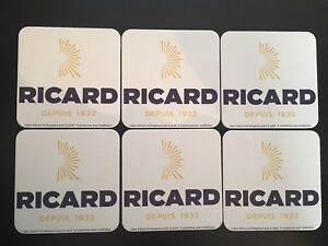 SUPER-PROMO-6-SOUS-BOCK-RICARD-NEUF-PORT-OFFERT