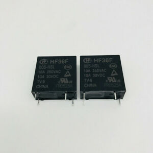 10Pcs New HF32F-024-HSL3 Hongfa Relay JZC-32F-024-HSL3 4-pin High Sensitivity 3A