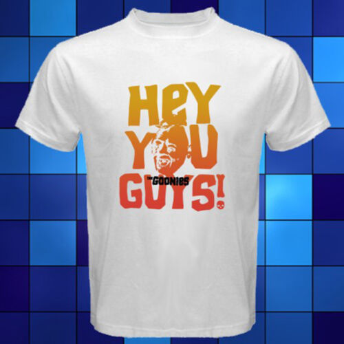 Hey You Guys Années 80 Film Movie T-Shirt Blanc Taille S M L XL 2XL 3XL Les Goonies