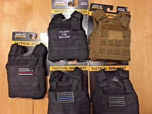 Rapid-Dominance-Tacticle-Mini-Vest-Bottle-Coolers-in-Five-Styles