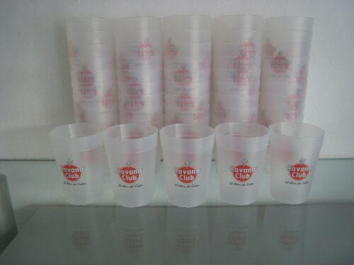 50 x Havanna Club Becher 0,3l mit Schaumrand Glas Trinkglas