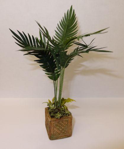 Dollhouse Artisan Deluxe Palm Tree Floor Plant By Wilhelmina 1 12 Miniatures