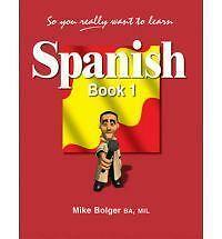 1 of 1 - So You Really Want to Learn Spanish Book 1-ExLibrary