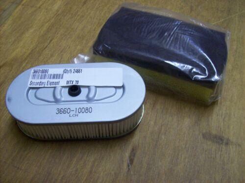 90 Air Filter Set OEM MTX80 Multiquip Mikasa jumping jack rammer MTX60 MTX70