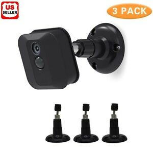 3X Blink XT/2 In/Outdoor Camera Wall Mount Bracket Protective Adjustable Holder
