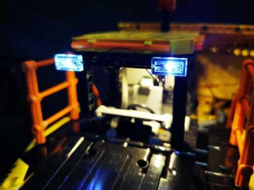 LED Lighting Kit for Lego Technic 6x6 Volvo Articulated Hauler 42114
