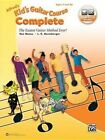 Alfred's Kid's Guitar Course Complete: The Easiest Guitar Method Ever!, Book & Online Audio by Ron Manus, L C Harnsberger (Paperback / softback, 2015)