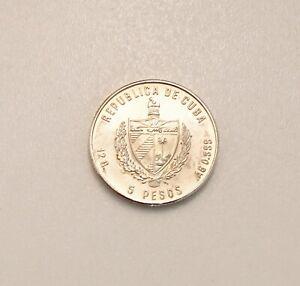 Sammelmuenze-5-Pesos-Medios-de-Transporte-999-Silber
