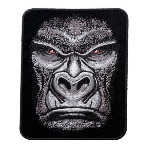 Wild Animal Patches Stern Faced Great Ape Gorilla Patch