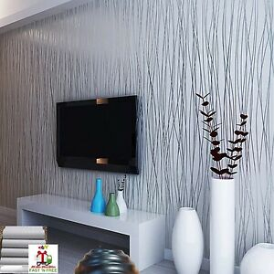 10m 3d wallpaper embossing textured silvergray background for Grey silver wallpaper living room