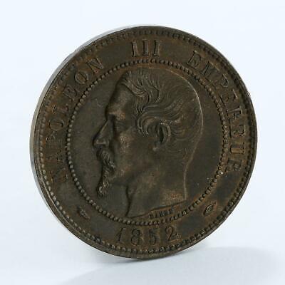 1863 napoleon iii empereur dix centimes coin