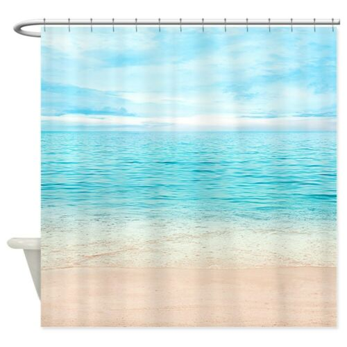 "69/""x70/"" CafePress Beautiful Beach Decorative Fabric Shower Curtain 951262216"