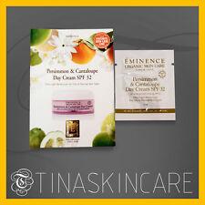 Eminence persimmon & Cantaloupe Day Cream SPF 32 Sample 5 x 3ml SAMEDAY SHIP