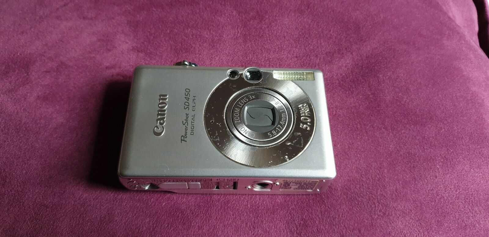 Canon Powershot SD450 - Ixus 55 UK- For parts
