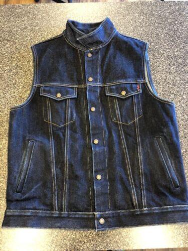 Iron Heart 526v-XHS 25oz  Denim Vest Size XXL