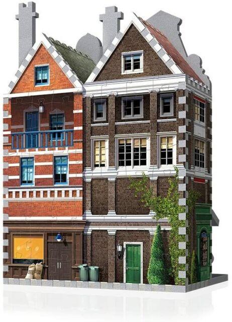 285Piece Urbania Caf� 3D Jigsaw Puzzle WREBBIT 3D