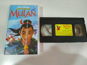 MULAN-LOS-CLASICOS-DE-WALT-DISNEY-VHS-CINTA-TAPE-Espanol