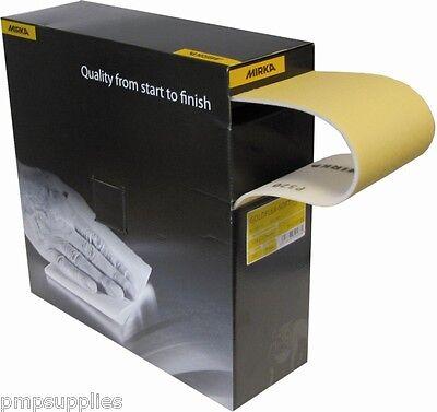 200 Pads K1000 Mirka Goldflex Soft 115 x 125 mm Abrasive Pads without Holes