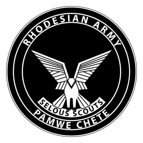 Rhodesian Special Forces Selous Scouts Stickers 0010
