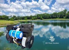 New 12 Hp Pond Amp Lake Aeration Pump Compressor Fan Guards Feet 39cfm 72psi