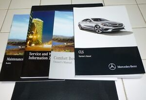 2015 mercedes benz cls 400 550 owners manual set 15 cls550 cls400 rh ebay com 2009 mercedes cls550 owners manual 2007 cls 550 owners manual
