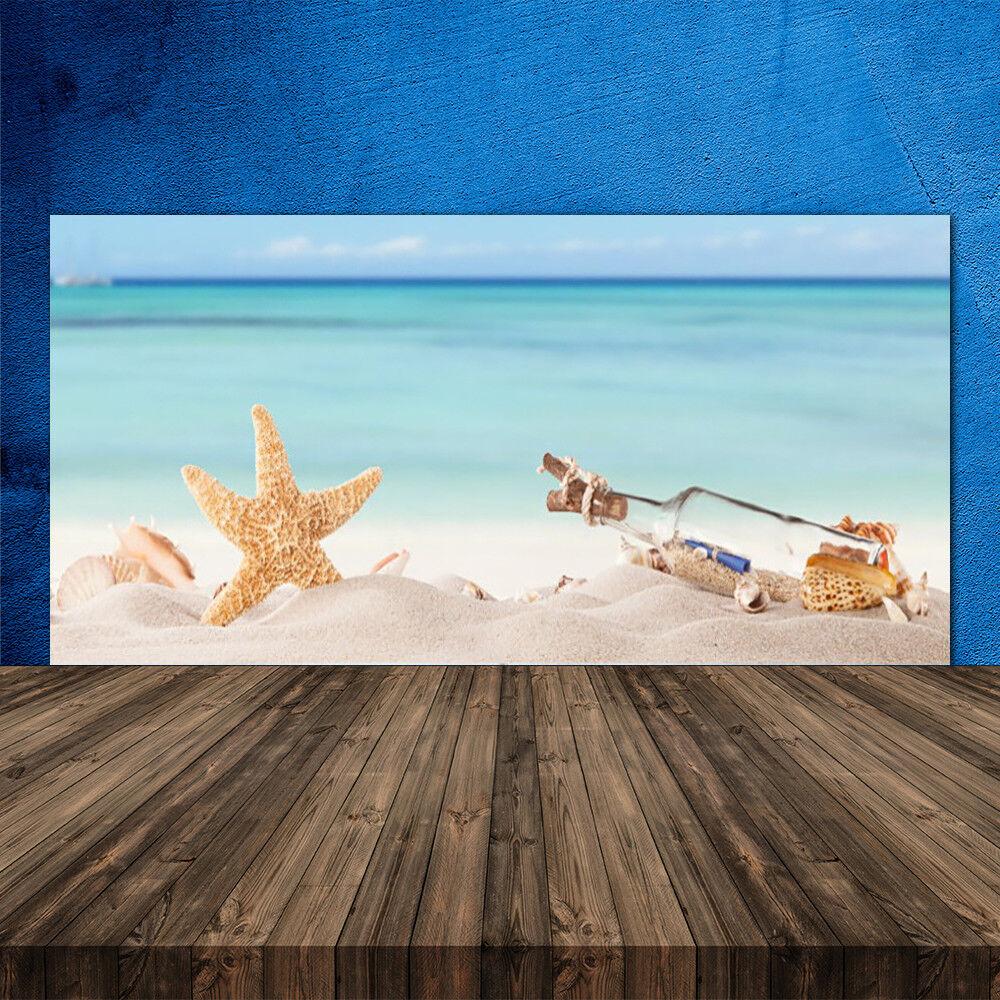 Crédence de cuisine en verre Panneau 120x60 Art Message En Bouteille