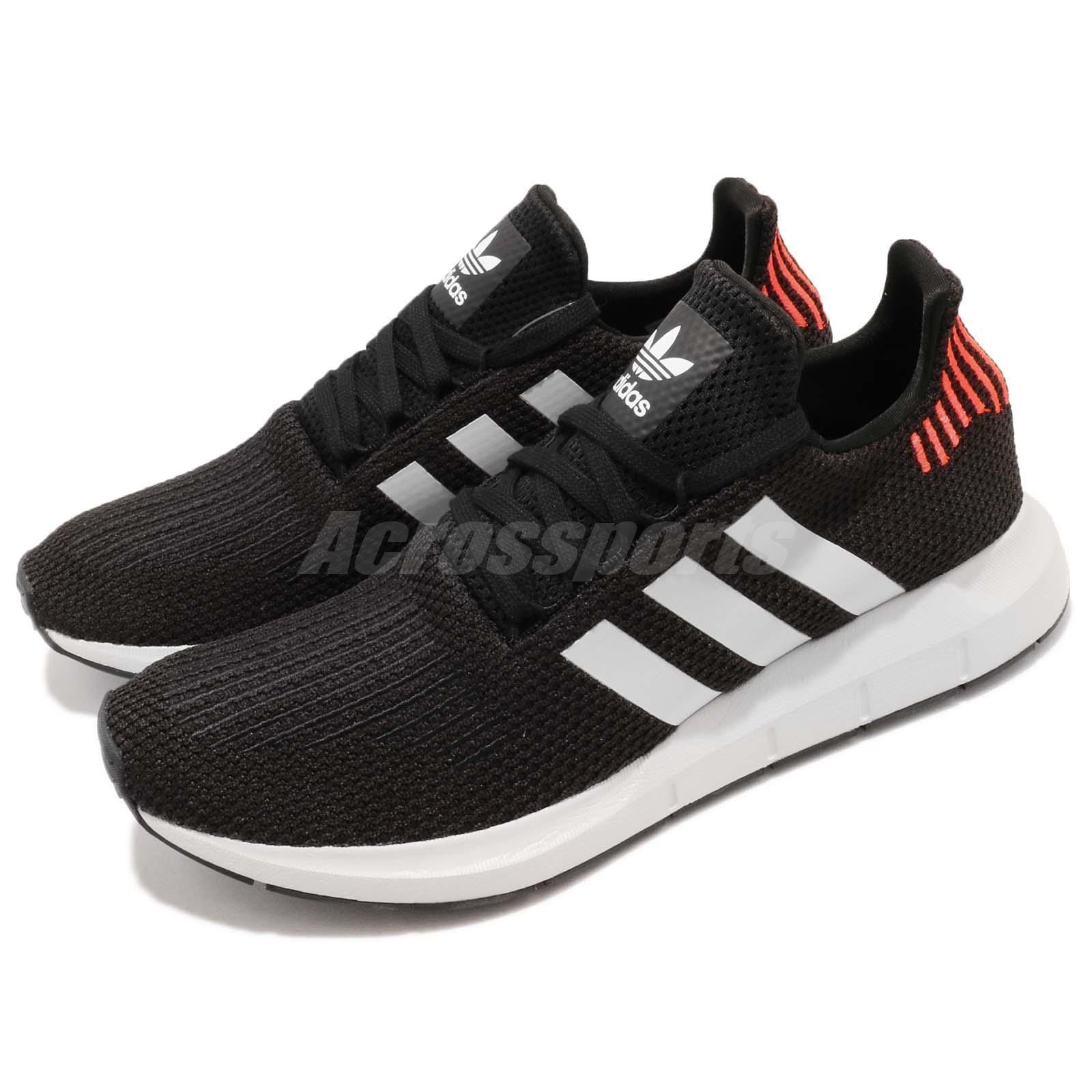adidas Originals Swift Run Noir Blanc Homme Chaussures de course à pied Sneaker B37730