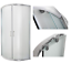 Duschkabine Duschabtrennung Gefrorenes Glas  80x80 180cm halbrund