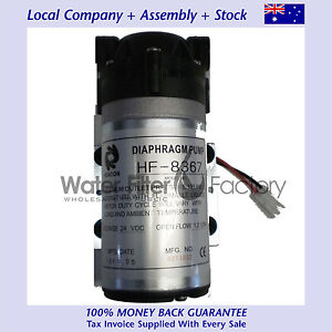 12v-DC-RO-Diaphragm-Pumps-Reverse-Osmosis-Water-Filters-125psi-Booster-Pump