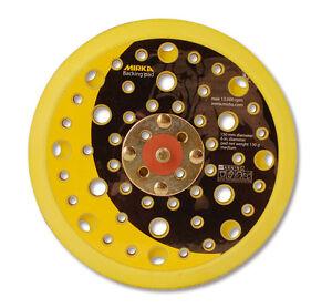 Mirka-Schleifteller-Klett-150-mm-fur-CEROS-Zweihand-und-Pros-Exzenterschleifer