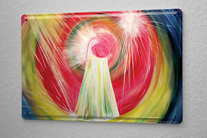 Blechschild Esoterik Karin Riener Energiebild Befreiende Energie Metallschild