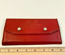 Vintage Lufkin S77 Radius Gauge Set With Case Amp Gauge Holder Machinist Tool